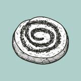 Bosquejo del vector del chocolate Imagen de archivo libre de regalías
