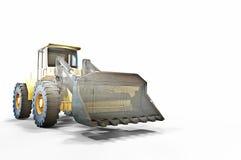 Bosquejo y construcción del cargador de la rueda Imagen de archivo libre de regalías