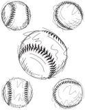 Bosquejos del béisbol Foto de archivo