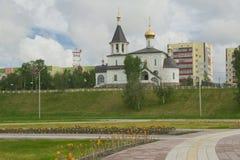 Bosquejos y peyzazhi de la ciudad. Imagen de archivo libre de regalías