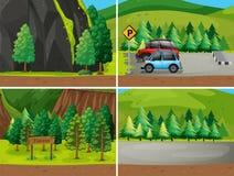 bosques libre illustration