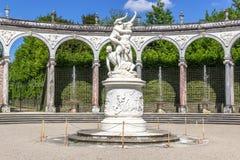Bosquet η κιονοστοιχία, Βερσαλλίες, Γαλλία Στοκ εικόνες με δικαίωμα ελεύθερης χρήσης