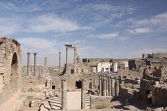 bosra叙利亚 库存照片