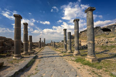 Bosra - the Roman baths Stock Photography