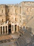 Bosra in Siria Fotografia Stock