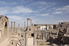 Bosra, Siria Fotos de archivo
