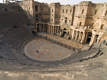 Bosra-Syria Royalty Free Stock Photo