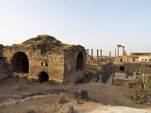 bosra syria royaltyfria bilder