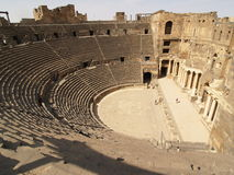 Bosra Theatre. II.  (Jordan ruins - Asia Royalty Free Stock Photography