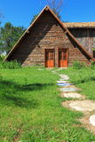 Bosrijke cabine stock foto's