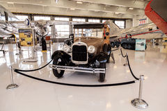 Bosrijke 1929 Ford Model een Stationcar Royalty-vrije Stock Fotografie
