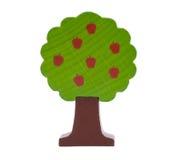 Bosrijke stuk speelgoed appelboom Stock Fotografie