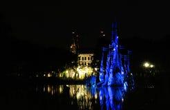 Bosryk Efteling. Night view at themapark Efteling Stock Images