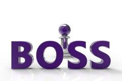 Boss stock de ilustración