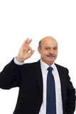 Boss approves of the work or decision Royalty Free Stock Image