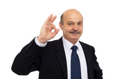 Boss approves of the work or decision Stock Image