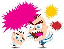 Boss Blaming stock de ilustración