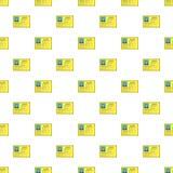 Boss business identification card pattern Stock Image