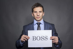 The Boss Royalty Free Stock Photos