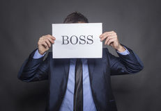 The Boss Stock Image