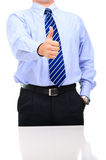 Boss is congratulating everybody with a good work Stock Photos