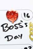 Boss día 16 de octubre Imagenes de archivo