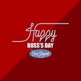 Boss day vintage background Stock Photos