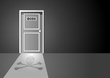 Boss Door Royalty Free Stock Photos