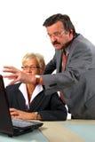 boss explaining Στοκ Εικόνα