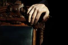 Boss hand Stock Photography