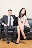 Boss and him secretary Royalty Free Stock Photos