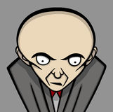 Boss illustration. Angry boss theme, vector illustration Royalty Free Stock Photos