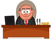 Boss Man Smiling Stock Images