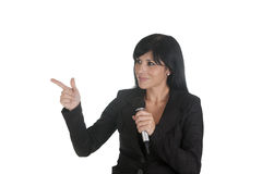 Boss microphone Royalty Free Stock Photo