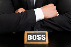 Boss-Sign Stock Photos
