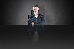 The boss Royalty Free Stock Photo