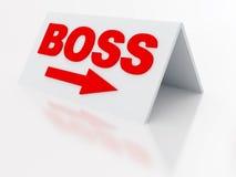 Boss tablet Stock Photos