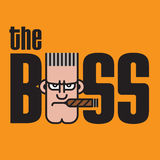 The Boss Vector Design Royalty Free Stock Photography