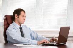 Boss at work Royalty Free Stock Photography