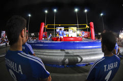 Bossa Ball. Championship in kuwait 2008 Stock Photography