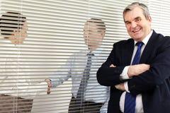 Bossage dans le bureau Image libre de droits