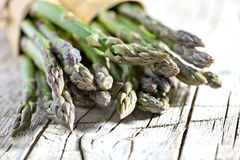 Bossen van verse asperge Royalty-vrije Stock Foto