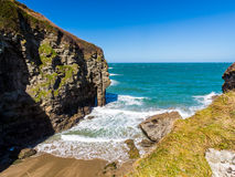 Bossiney Cove Tintagel Cornwall Royalty Free Stock Photography