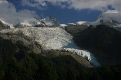 Bossons des Gletschers Stockbild