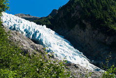 Bossons Glacier Royalty Free Stock Images