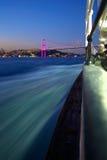 Bossphorus Ferry & Alone girl Stock Photos