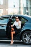 Bossy Frau stockbild