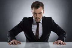 Bossy man. Stock Photography