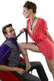 Bossy Seduction Royalty Free Stock Images