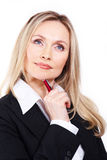 Bossy woman Stock Images